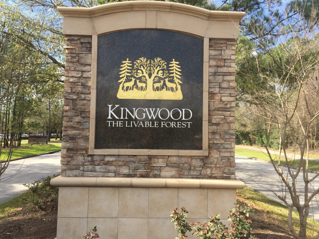 Kingwood Monument Front After 1