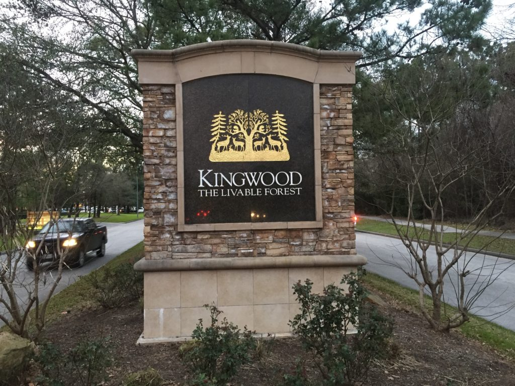 Kingwood Monument Front Before 1